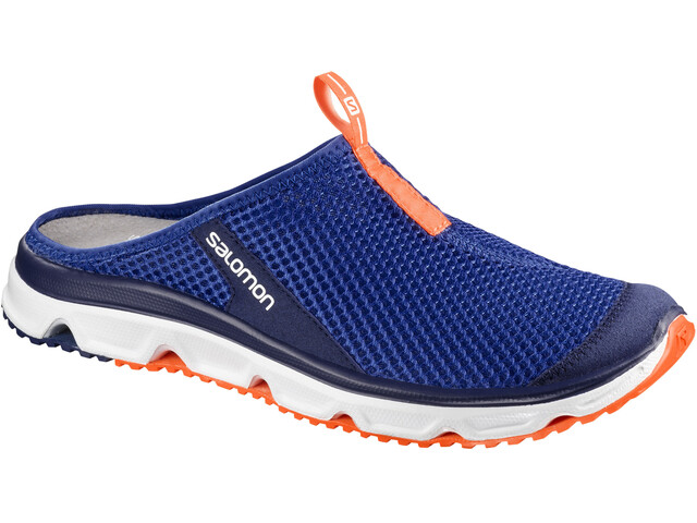 Salomon RX Slide 3.0 Shoes Men Surf the Web/White/Schocking Orange